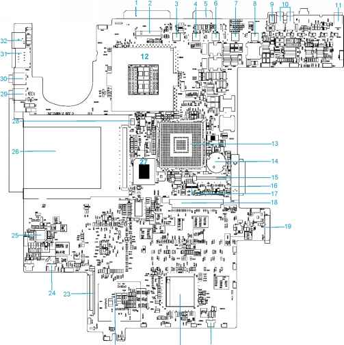 system block diagram - acer aspire 1300