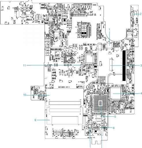 system block diagram - acer aspire 1300