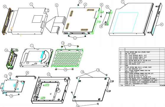 Module - Acer Aspire 1510