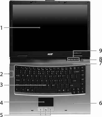 Acer TravelMate 2420-A Touchpad 64 BIT