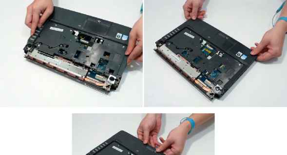 replacing the upper cover acer aspire 4240 4540 rh acerrepairblog us Laptop Acer Aspire 5735 Acer Aspire Computer