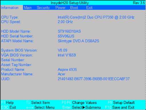 ACER ASPIRE 7315 INTEL SATA AHCI WINDOWS 10 DRIVER
