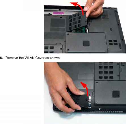 Removing The Express Card Dummy Card Acer Aspire 4935 4935g