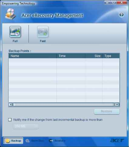 Acer Aspire Dvd Recover System