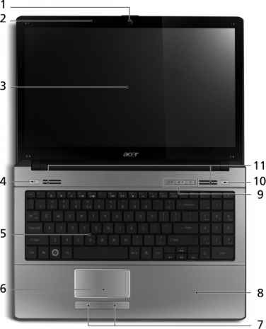 Acer Aspire 5534 Wireless Switch