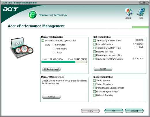 Acer Eperformance Management