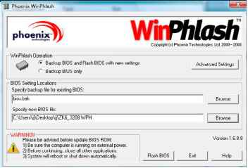 Using the Flash Utility to Update the BIOS - Acer Aspire