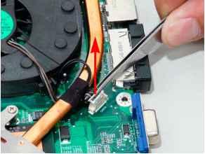 Removing The Cpu Fan Module Acer Aspire 7730 7730g