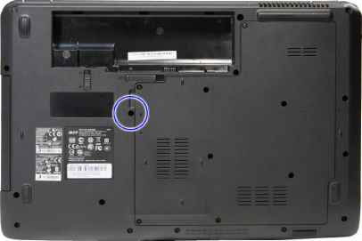 Acer Optical Drive Remove