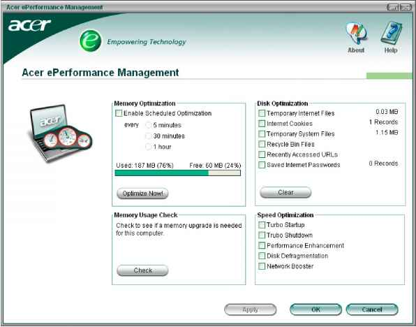 acer erecovery management usb download