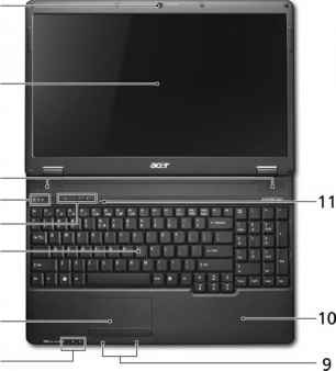 Acer 5535 Microfoon