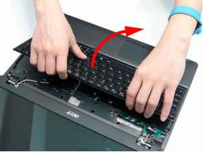 Extensa 7220 Keyboard Cleaning