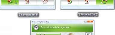 Acer Eaudio Management