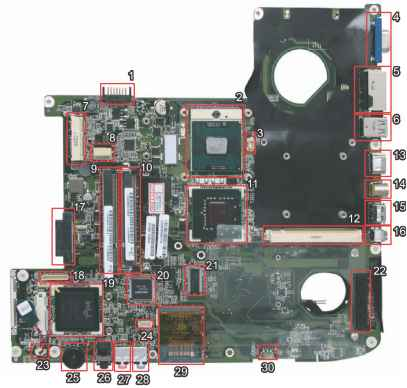 Aspire Fan Connector Layout
