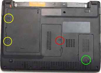 Acer Aspire 5530g Disassemble