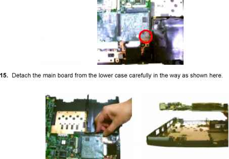 Removing The Audio Board Acer 5220