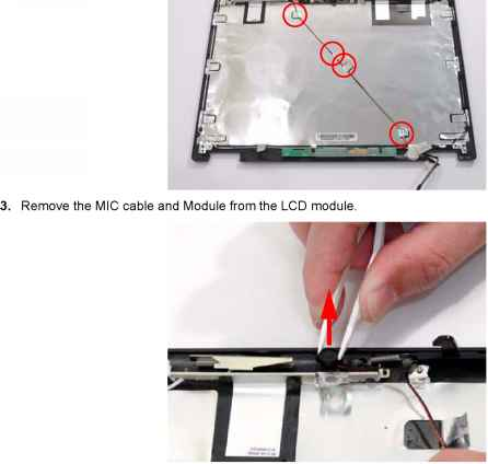 Lcd Cover Switch Acer 5535