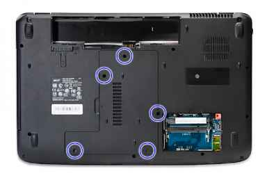 Acer Aspire Remove The Back Cover