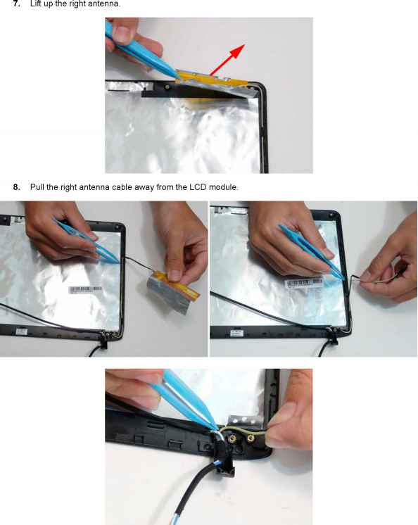 Replace Antenna Acer Aspire 1520
