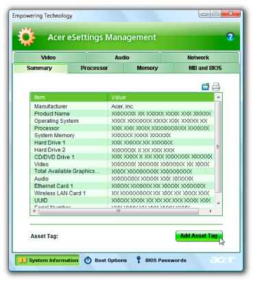 Download Acer Mobility Center