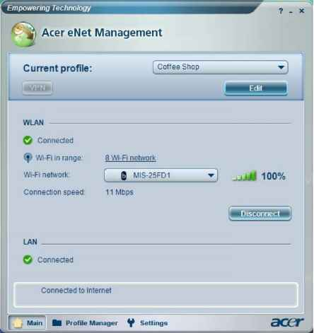 Acer Enet Management