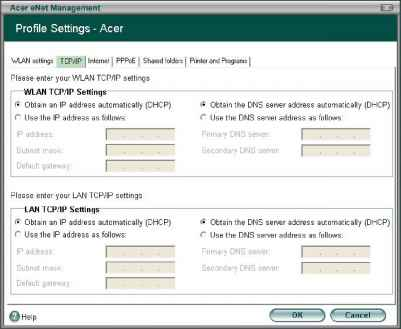 Acer Enet Management Picture