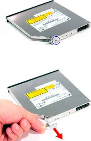 Removing Optical Drive