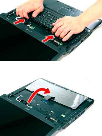 How Remove Acer 5735 Keyboard