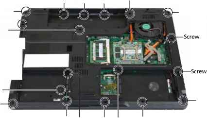 Acer Travelmate 6292 Disassembly